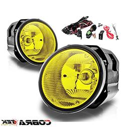 01-04 NISSAN FRONTIER OE/REPLACEMENT FOG LIGHT - YELLOW LENS