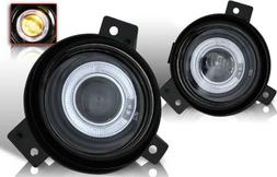 01-05 Ford Ranger Halo Projector Fog Lights Clear Lens Pair