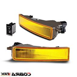 03-06 SCION XB OE/REPLACEMENT FOG LIGHT - YELLOW LENS