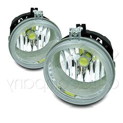 07-09 Jeep Compass Replacements Fog Lights w/High Power COB