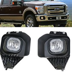 11-16 Ford F250 350 Super Duty Fog Lamp Light LH RH Wiring K