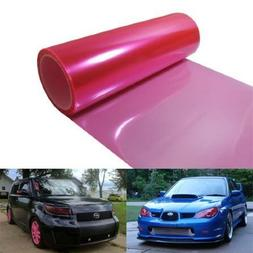 12 by 48 inches Self Adhesive Hot Pink Headlights, Tail Ligh