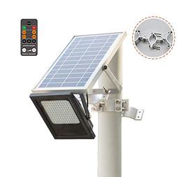Sunwebcam 120 LED Solar Powered FloodLights Outdoor Security