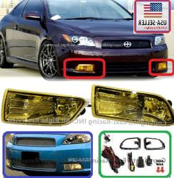 2005 2006 2007 2008 2009 2010 Scion Tc Fog Light Yellow + Sw