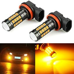 JDM ASTAR 2800 Lumens Extremely Bright 4014 Chipsets H11 H8