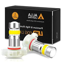 Alla Lighting 2800lm Xtreme Super Bright 5201 5202 LED Bulbs
