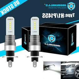 2pcs h1 cree led fog driving light