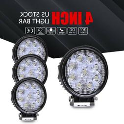 4x 4inch 108w round led work lights