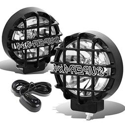 """6"""" Round Fog Lights+Offroad Super 4X4 Guard+Switch For Grill"""