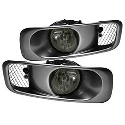 AJP Distributors Fog Lights Lamps Pair + Wiring Switch For 1