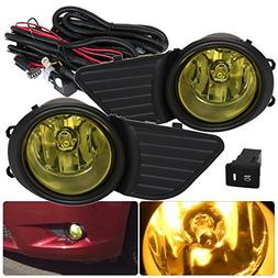 AJP Distributors For Toyota Sienna Fog Lights Lamps Front Dr