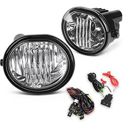 AUTOSAVER88 Fog Lights 9006 12V 51W Halogen Lamp for 03-08 T