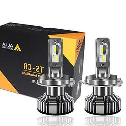 Alla Lighting 10000lm LED H4 Headlight Bulbs Extremely Super