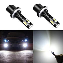 Alla Lighting CREE 50W 880 899 High Power LED Fog Lights Bul