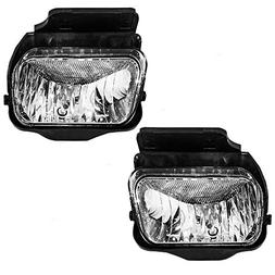 BROCK Driver and Passenger Fog Lights Lamps Replacement for
