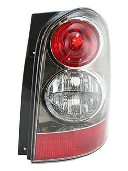 Black Taillight Taillamp With Bezel LH Left Driver Side for