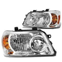 DNA MOTORING HL-OH-097-CH-AM Headlight Assembly Driver And P