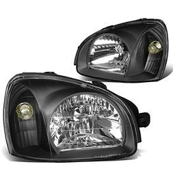 DNA Motoring HL-OH-053-BK-CL1 Pair of Headlight Assembly