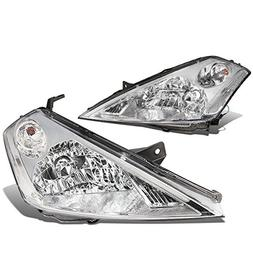 DNA Motoring HL-OH-077-CH-CL1 Pair of Headlight Assembly