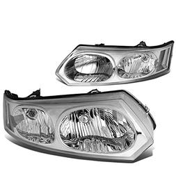 DNA Motoring HL-OH-084-CH-CL1 Pair of Headlight Assembly