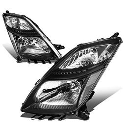 DNA Motoring HL-OH-099-BK-CL1 Pair of Headlight Assembly