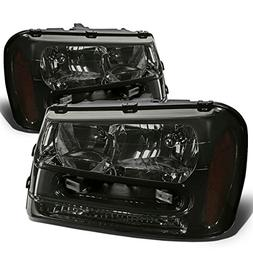 DNA Motoring HL-OH-TRA02-SM-AM Headlight Assembly, Driver an