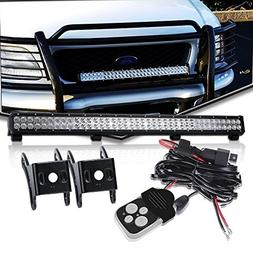 "DOT Approved 36"" Inch Led Light Bar On Canopy Roof Rack Brus"