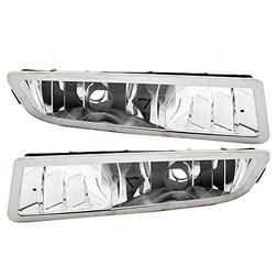 Driver and Passenger Fog Lights Lamps Replacement for Acura