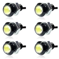 E Support 10W Led Drl Eagle Eye Light Car Pack of 6