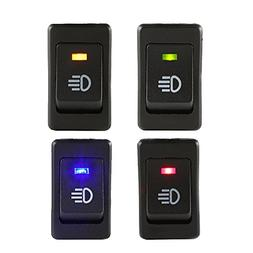 E Support Car LED Fog Toggle Switch