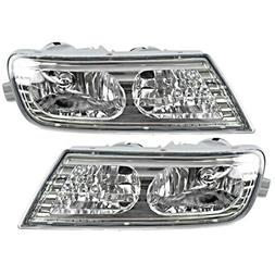 Fits 07-09 Acura MDX Fog Light Assembly Pair, Driver and Pas