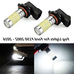 For Ford F150 2002 - 2016 Fog Lights Super Bright 144-SMD LE