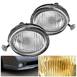 For Nissan Maxima Clear Lens Fog Lights Replacement Upgrade