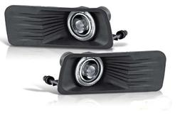 Ford Explorer 06 07 08 09 Clear Halo Projector Fog Light Rig