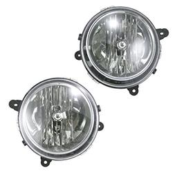 Front Headlights Headlamps Lights Lamps Pair Set of 2 for Je