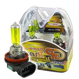 GP THUNDER 3500K H11 55W Golden Yellow Light Bulbs for Fog L