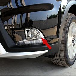 Generic Chrome Front Fog Light Lamp Cover Trim Fit For Toyot