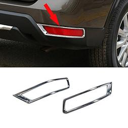 Generic Fit For Nissan 2017 New Rogue X-trail Chrome Rear Fo