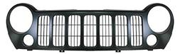 Grille Grill Black Front End for 05-07 Jeep Liberty Sport In