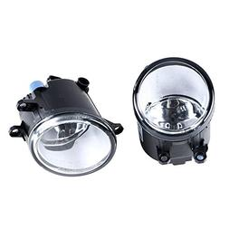 Complete Set Fog Lamps with H11 Bulbs For Toyota 4Runner Ava
