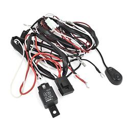 H3/55W Halogen Fog Lamp Light Wiring Controller Kit 12V 40A
