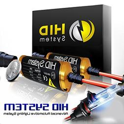 """HID SYSTEM Xenon Slim Conversion Kit with """" Smallest High In"""