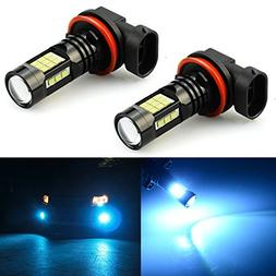 JDM ASTAR 2400 Lumens Extremely Bright PX Chips H11 H8 LED F