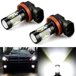 JDM ASTAR Extremely Bright Max 30W High Power H11 LED Bulbs