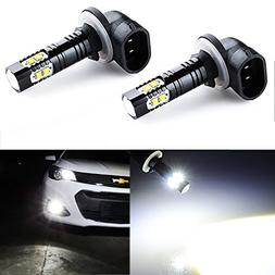 JDM ASTAR Extremely Bright Max 50W High Power 881 LED Fog Li