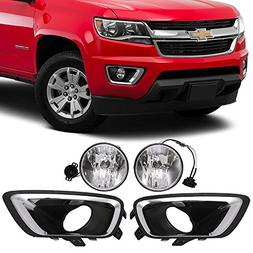 Lights Fit For 2015-2016 Chevy Colorado | Front Fog Light Fo