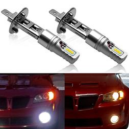 NINEO H1 LED Fog Light Bulbs - CSP Chips 6500K 600LM Cool Wh