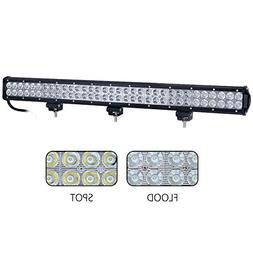 "Nilight 31"" 198W Led Light Bar Flood Spot Combo Off Road Wor"