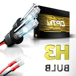 OPT7 2pc Bolt AC H3 Replacement HID Bulbs  Xenon Light