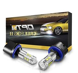 OPT7 880  CREE XLamp LED DRL Fog Light Bulbs - 5000K Bright